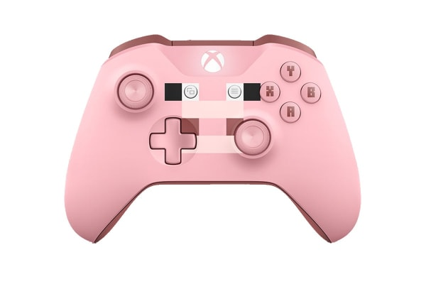 Xbox One Limited Edition Minecraft Pink Pig Wireless Controller