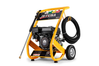JET-USA Cleaner 4800PSI 8HP Petrol High Pressure Washer Gurney Pump Hose Water
