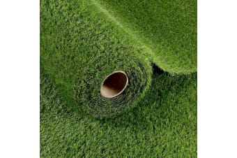 15 SQM 35mm Artificial Grass Synthetic Turf Fake Lawn Flooring