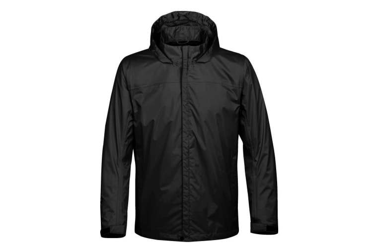 Stormtech Mens Monsoon Waterproof Shell Jacket (Black) (M)