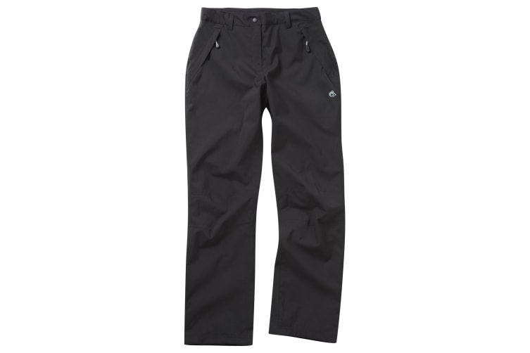 Craghoppers Outdoor Pro Womens/Ladies Airedale Hiking Trousers (Black) (20L)