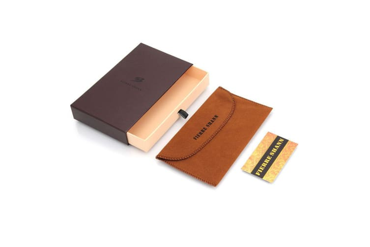 For iPhone 8 7 Wallet Case Fierre Shann Buckle Protective Leather Cover Brown