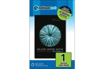 Nelson Senior Maths Methods 11 Student Access Card 1 Year