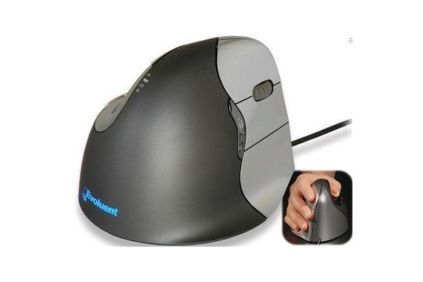 Evoluent VM4R Wired Vertical Mouse 4 right-handed Truly Ergonomic Mouse Perfect for those who use