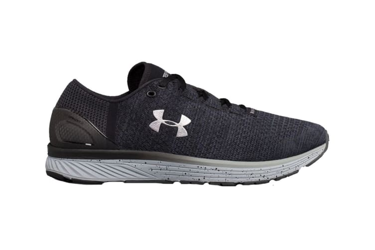 Under Armour Men's Charged Bandit 3 Running Shoe (Stealth Gray/Black, Size 7.5)