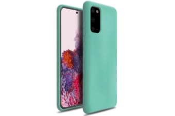 ZUSLAB Galaxy S20 4G 5G 2020 Nano Silicone Case Shockproof Gel Rubber Bumper Protective Cover for Samsung - Mint Green