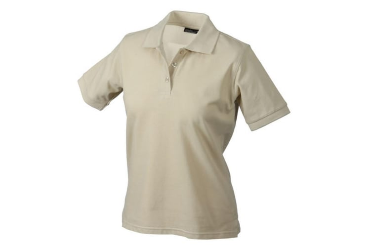 James and Nicholson Womens/Ladies Classic Polo (Stone) (S)
