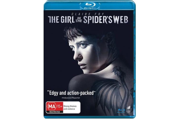 The Girl in the Spiders Web Blu-ray Region B