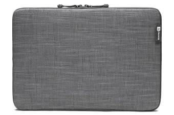 "Booq MSL15-GRY Mamba sleeve 15"" 15 inch for MacBook Pro Retina Laptop Jute Grey"