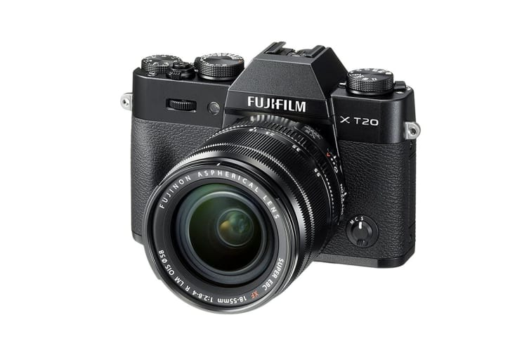 Fujifilm X-T20 & XF 18-55mm Lens Kit (Black)