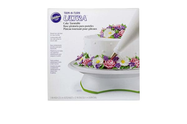 Wilton Trim-N-Turn Ultra Rotating Cake Stand