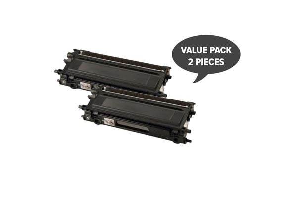 TN-240BK Premium Generic Toner (Two Pack)