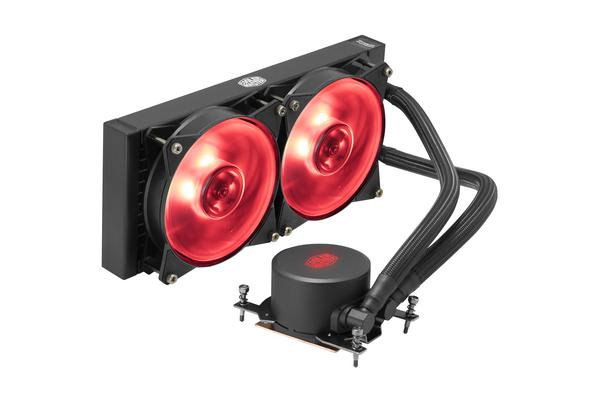 Cooler Master MasterLiquid ML240 RGB (TR4) All in One Watercooling with 2 X  RGB 120MM  fan -  MAX