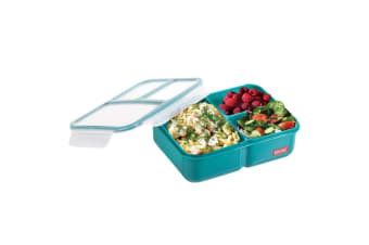 Russbe Bento Lunch Boxes-teal 1.6l