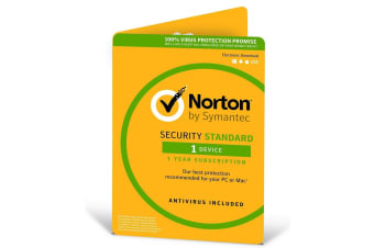 SYMANTEC Security  2018, 1  Device, 12 Months, PC, MAC, Android, iOS, OEM  -