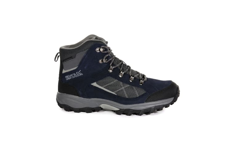 Regatta Great Outdoors Mens Kota Mid Walking Boot (Navy Blazer/Briar) (UK 9)