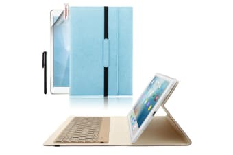Backlit ipad Keyboard Case Cover For ipad 9.7-Blue