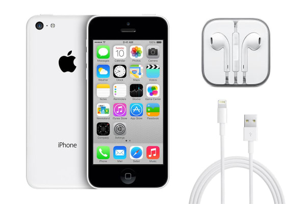 Apple iPhone 5c Refurbished (16GB, White)