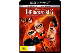 The Incredibles (Ultimate Collector's Edition) (4K UHD/2 Disc Blu-ray)