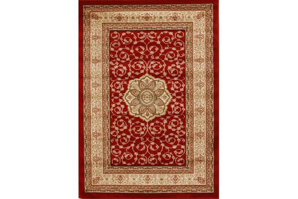 Medallion Classic Pattern Rug Red 170x120cm