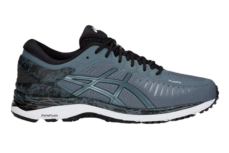 ASICS Men's Gel-MetaRun Running Shoe (Ironclad/Ironclad, Size 7)