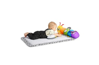 Baby Einstein 3 in 1 Baby Infant Travel Pillar Tummy Play Mat w/Toys/Rattle 0m+