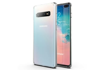 Clear Shockproof Crystal Case Cover For Galaxy S10 Plus