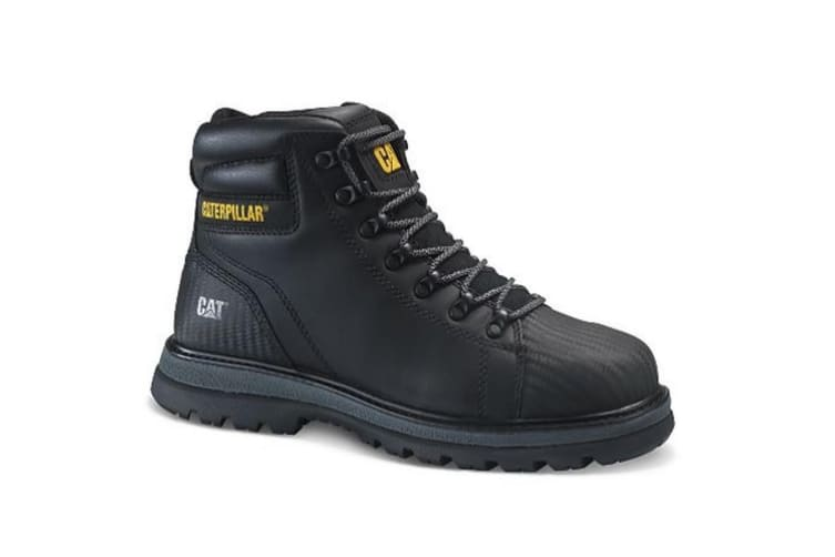 Caterpillar Mens Foxfield Lace Up Safety Boot (Black) (12 UK)