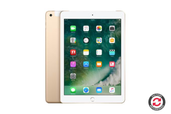 Apple iPad 2017 Refurbished (32GB, Cellular, Gold) - A+ Grade