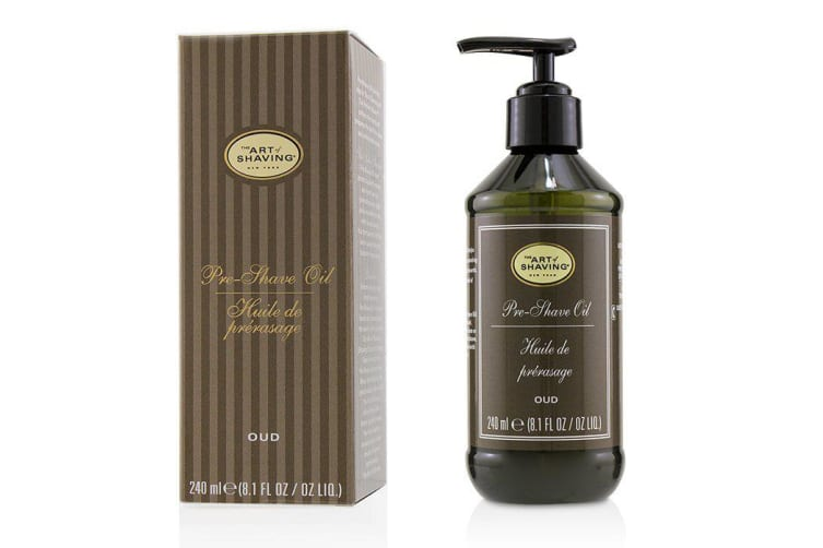 The Art Of Shaving Pre Shave Oil - Oud (With Pump) 240ml