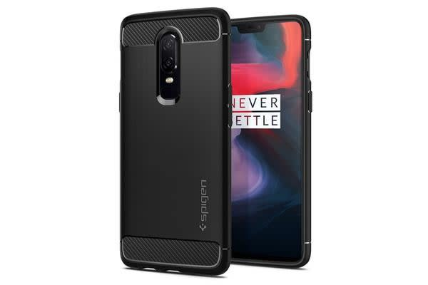 Spigen OnePlus 6 Rugged Armor Case Black