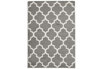 Indoor Outdoor Morocco Rug Grey