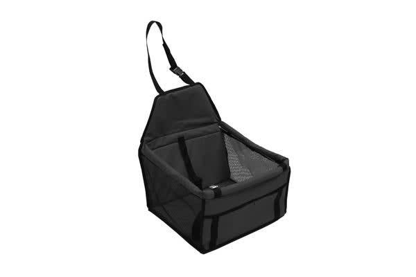 Black Pet Car Booster Seat Puppy Cat Dog Auto Carrier