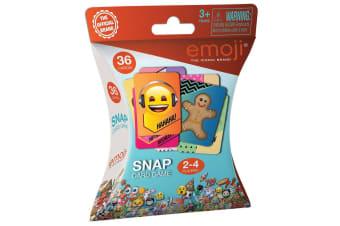 36pc Emoji Snap Card Game