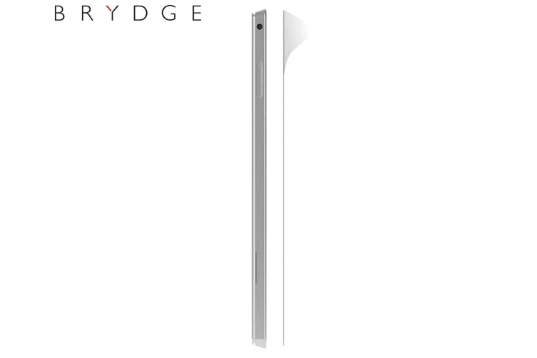 Brydge 12.3-Inch Flexible Tempered Glass Screen Protector Film Guard for iPad