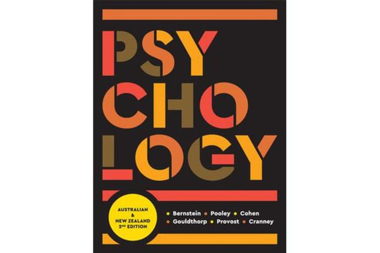 Psychology - Australia and New Zealand with Online Study Tools 12 months