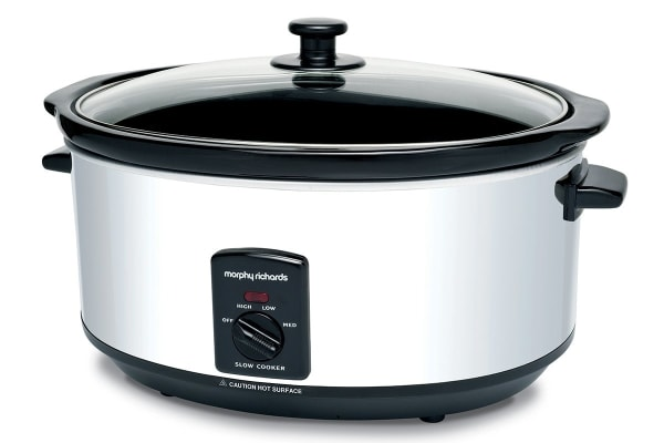Morphy Richards 6.5L Polished Stainless Steel Slow Cooker
