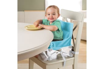 Summer Infant Pop N Sit Booster Seat Aqua Splash