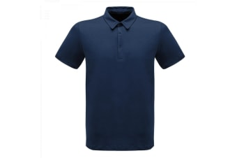 Regatta Professional Mens Classic 65/35 Short Sleeve Polo Shirt (Navy)
