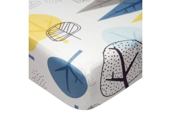 Lolli Living Cot Fittex Sheet In the Woods