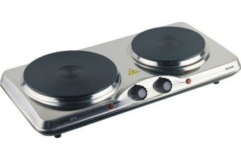 Cooktop Grill Maxim Double Dual Hotplate Hot Plate Portable