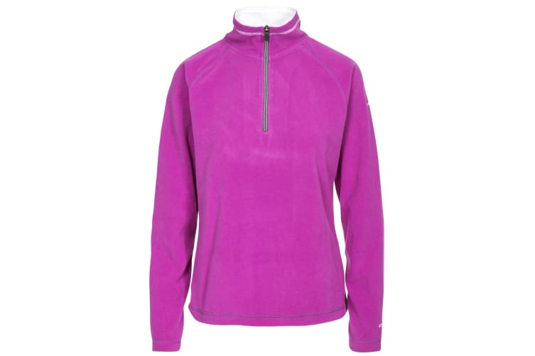 Trespass Womens/Ladies Skylar Fleece Top (Purple Orchid) (XXS)