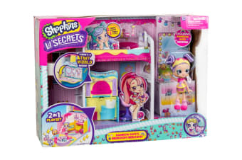Shopkins Shoppies Lil' Secrets Bedroom Hide Away Playset S1