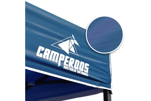 3x4.5m Gazebo Frame + Roof + Side Cover - NAVY