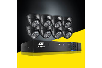 UL-tech CCTV Camera Security System 8CH DVR 1080P Outdoor IP Long Range 2MP HD