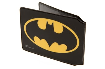 Batman Card Holder (Black/Yellow) (10 x 7.5cm)