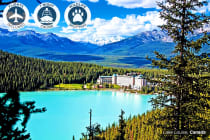 CANADA & ALASKA: 14 Day Luxury Tour & Cruise Including Flights for Two