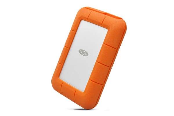LaCie Rugged Thunderbolt Drop Resistant 4TB USB-C Hard Drive