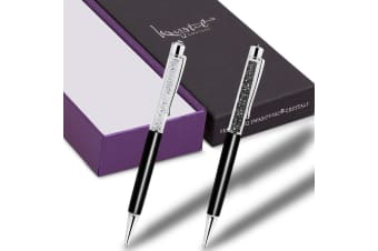 Boxed 2 Pieces Elements Pens Embellished with Swarovski crystals