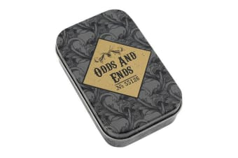 Cabinet Of Curiosities Odds and Ends Metal Tin (May Vary) (One Size)